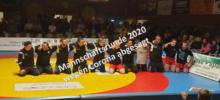 Mannschaftsrunde 2020 ohne Elchfighter des KSV Unterelchingen