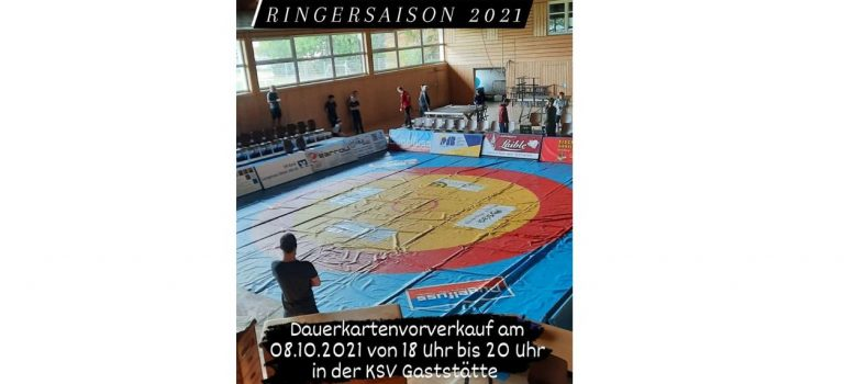 Dauerkarten Ringen Vorverkauf 08.10.2021 18:00-20:00 Uhr